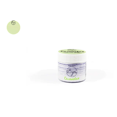 Меловая акриловая краска ScrapEgo, 30 мл, салатовая