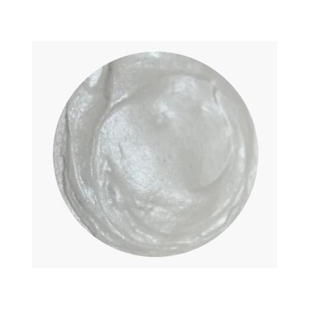 Акриловая краска металлик, 30 мл, серебро