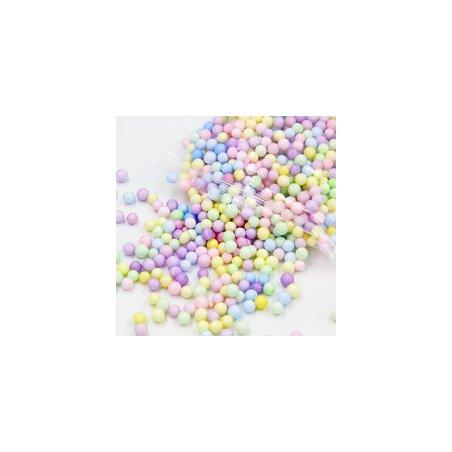 Набор цветных пенопластовых шариков, 2-3 мм