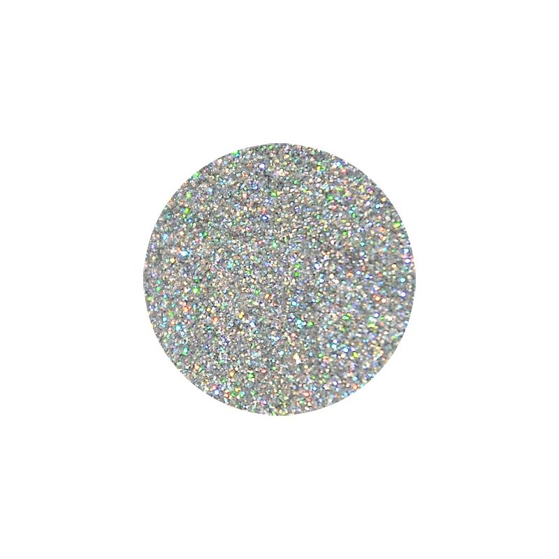 Глиттер, цвет голографическое серебро, 10 г