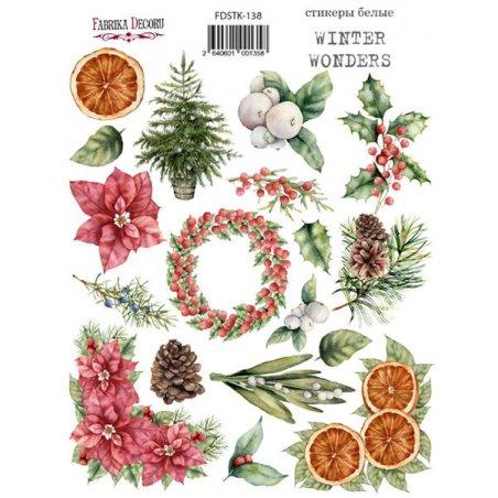 "Набор наклеек (стикеров) ""Winter Wonders"", №138"