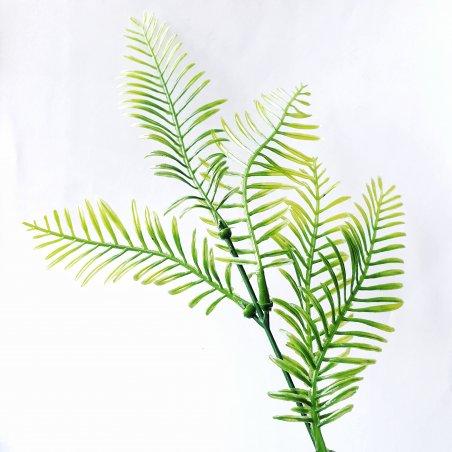 """Искусственная зелень """"Веточка тиса"""", 25 см"""