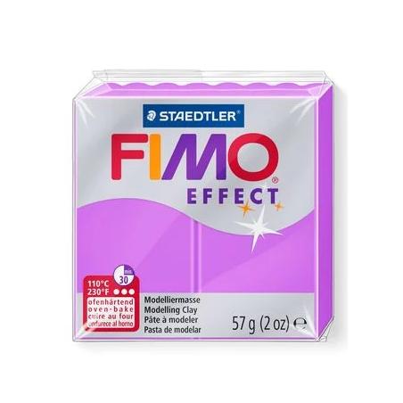 Полимерная глина Fimo Effect, №601, неоново-фиолетовый, 57 г