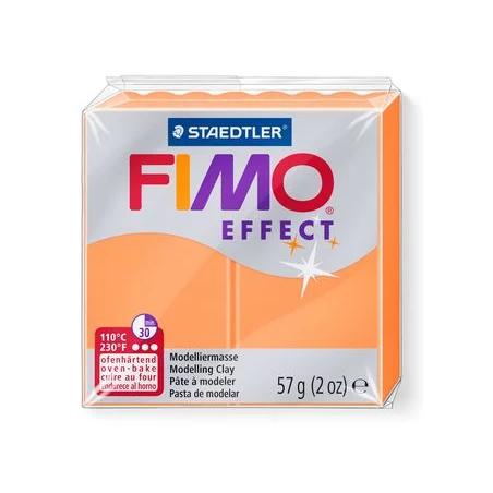 Полимерная глина Fimo Effect, №401, оранжевый неоновый, 57 г
