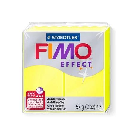 Полимерная глина Fimo Effect, №101, неоново-желтый, 57 г