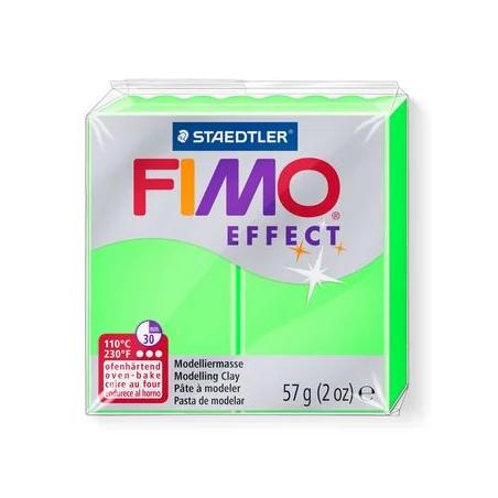 Полимерная глина Fimo Effect, №501, неоново-зеленый, 57 г