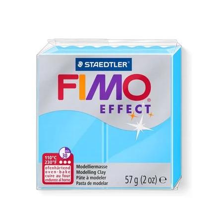 Полимерная глина Fimo Effect, №301, неоново-синий, 57 г