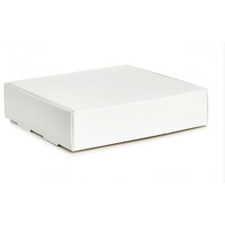 Коробочка для упаковки №0043, цвет белый 10х10х3,5 см