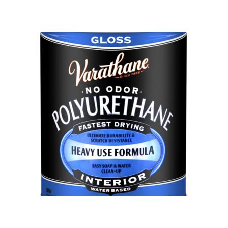 Лак Varathane полиуретановый на водной основе, глянцевый, 80 мл