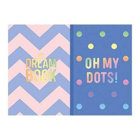 Блокнот My dream book / Oh my dots, A5, чистые страницы
