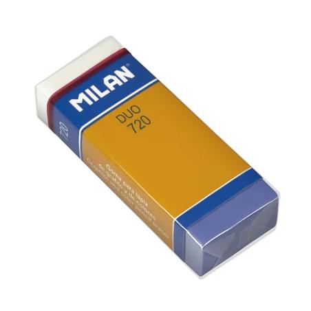 "Ластик прямоугольный DUO 720, ""MILAN"" 6,1х2,3х1,2 см"