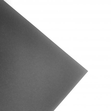 Ватман 285 г/м2 В2 (50х70 см), цвет черный (nero)
