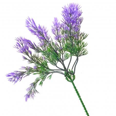 """Искусственная зелень """"Пик укропа"""", цвет фиолетово-зеленый, 25 см"""