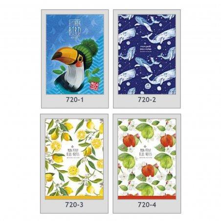 """Тетрадь 720 """"Mon petit"""" (в ассортименте), А5, 70 г/м2, 80 листов в линию"""