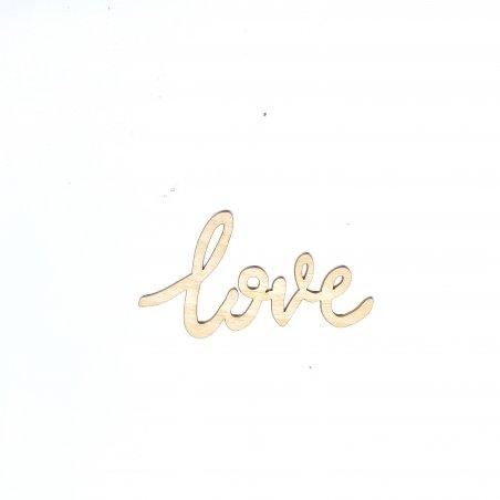 """Малое слово """"Love"""", 8х4,5 см"""