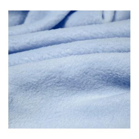 Ткань флис, 28х40 см, цвет голубой