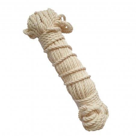 Хлопковый шнур для макраме, толщина 4 мм (20 м)