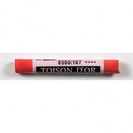 Сухая мягкая мел-пастель KOH-I-NOOR TOISON D'OR 8500/167, пирол желто-красный