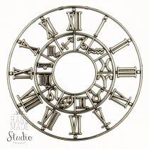 Часовой диск  зодиак  символы