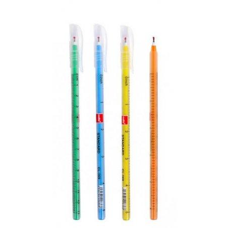 """Ручка масляная """"Ball Pen"""" Cello CL369 синяя, цвет корпуса в ассортименте"""