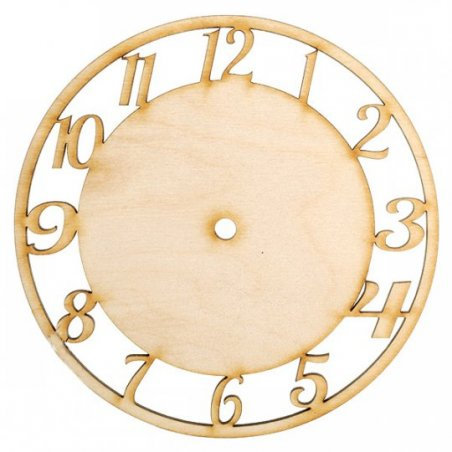 Основа для часов круглая d 20 см
