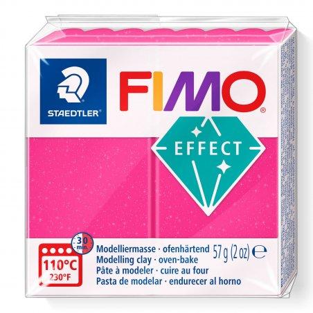Полимерная глина Fimo Effect, 56г, №286, рубиновый кварц
