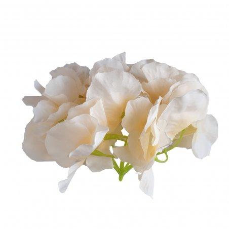 Соцветие гортензии, 15 см, цвет шампань