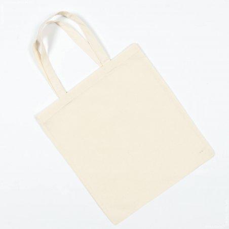 Заготовка для декорирования эко сумка (бязь), цвет беж, 38х42 см