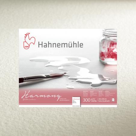 Склейка для акварели Hahnemuhle Harmony Watercolour 300 г/м² CP, А4, 12 листов