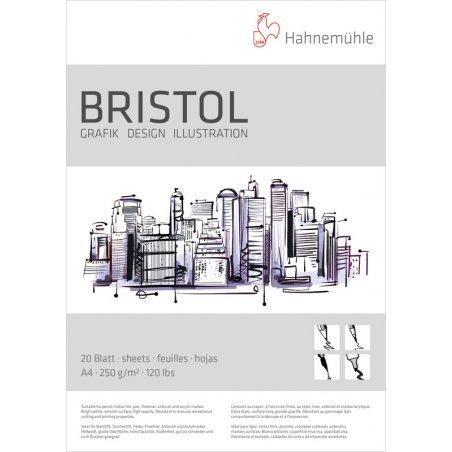 Альбом для графики и илюстраций Hahnemuhle Bristol 250 г/м², А4, 20 листов