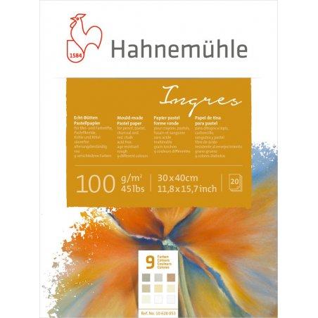 Альбом для пастели Hahnemuhle Ingres 100 г/м², 24х31 см, 20 листов (9 цветов)