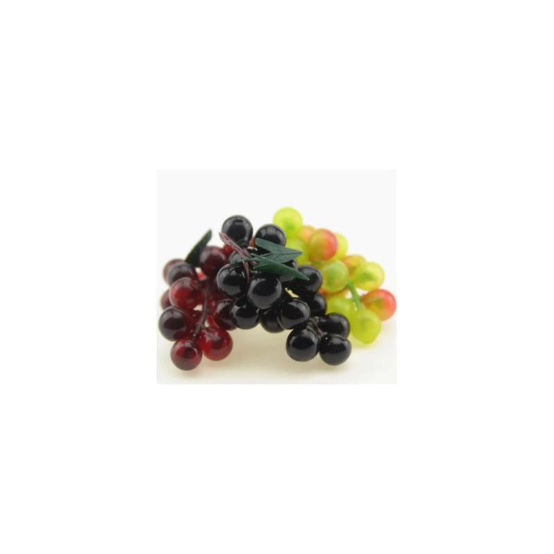 Декоративная гроздь винограда, 7х4 см (в ассортименте), 1 штука