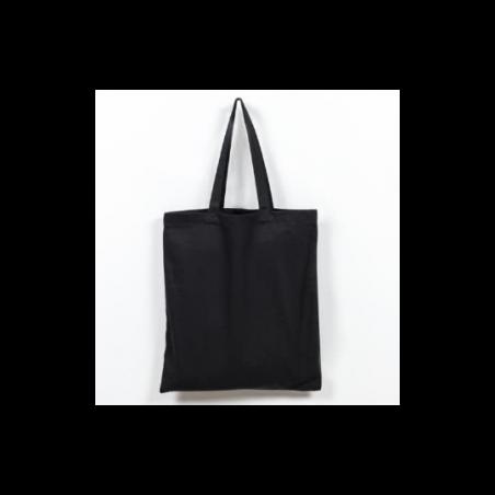 Заготовка для декорирования эко сумка (бязь), цвет черный, 38х42 см