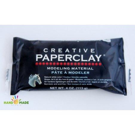 Самотвердевающая масса для лепки кукол Paperclay 113 грамм