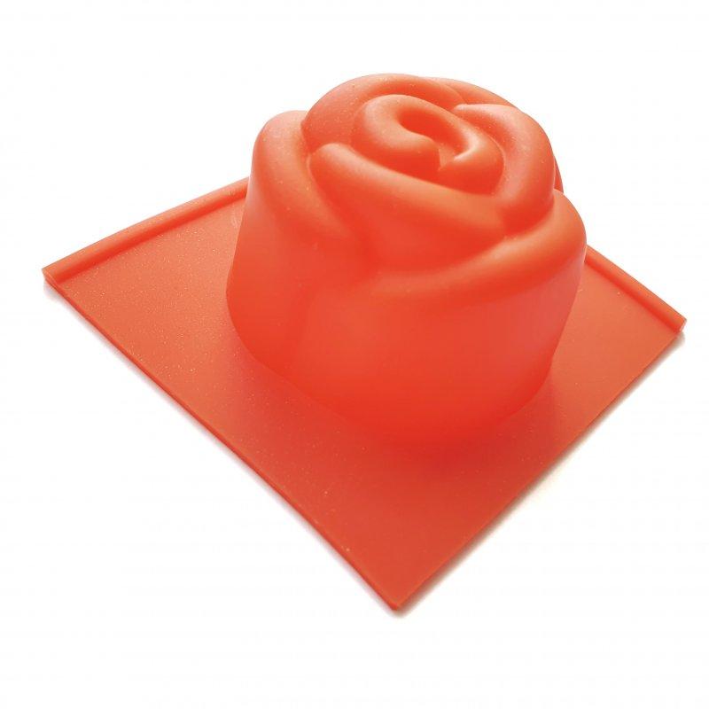 Силіконова форма для мила Троянда-міні, 4х4 см