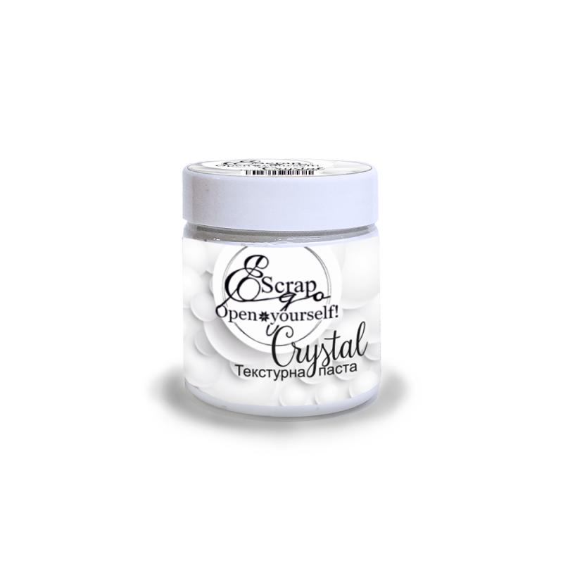 Текстурная паста Crystal, ScrapEgo, 150 мл