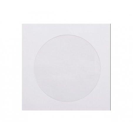 Конверт для диска, 12,5х12,5 см, цвет - белый, 1 штука