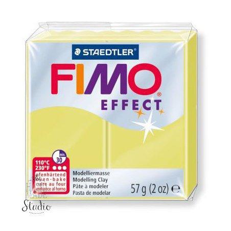 Полімерна глина Fimo Effect, №106, перламутровий жовтий, 57 г