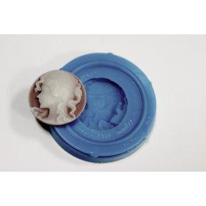 Темоустойчивый силиконовый молд  Камея №5