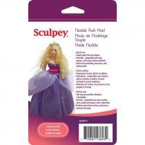 """Гибкая форма Sculpey """"Девушка"""""""