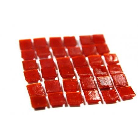 Мозаика стеклянная красный А96 ,1х1 см.