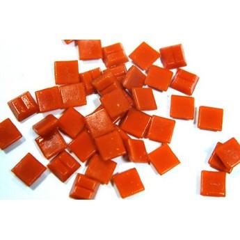 Мозаика стеклянная оранжевая А95 ,1х1 см.