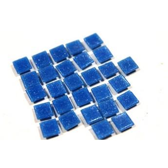 Мозаика темно-синяя с вкраплениями Х36, 1х1 см.