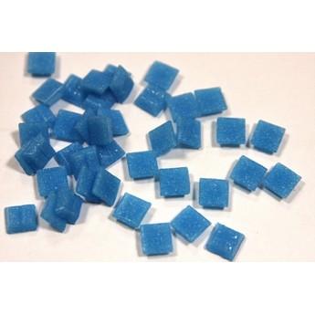 Мозаика с вкраплениями насыщенный голубой Х33  ,  1х1 см.