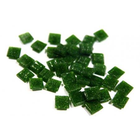 Мозаика с вкраплениями бледно-зеленая А21  1х1 см.