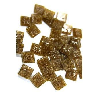 Мозаика с вкраплениями сахарно-медовая Х54, 1х1 см.