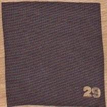 """29 Краска по шелку и светлым тканям растекающаяся """"Setasil"""" Глубокий коричневый"""