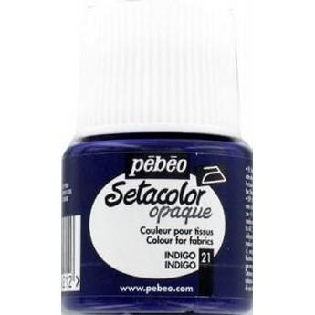 Краска для темных тканей лимонно-желтая 017 Setacolor Opaque Pebeo