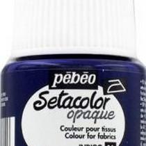 021 Краска для темных тканей Индиго  Setacolor Opaque Pebeo