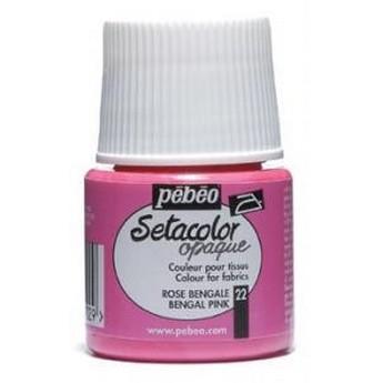 Краска для темных тканей Индиго 021 Setacolor Opaque Pebeo